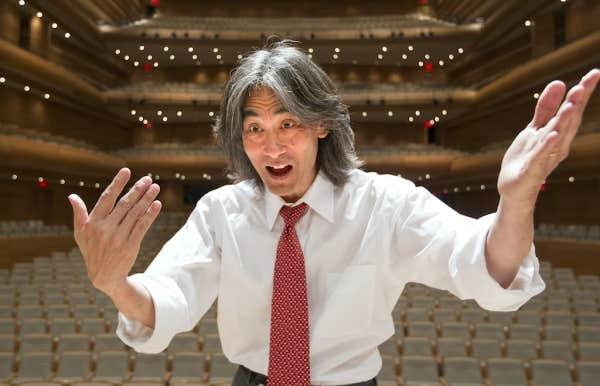 Le chef de l'Orchestre symphonique de Montréal, Kent Nagano (septembre 2013).