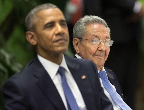 Le président américain Barack Obama et le commandant-président Raúl Castro ont partagé plusieurs moments la semaine dernière à Cuba.