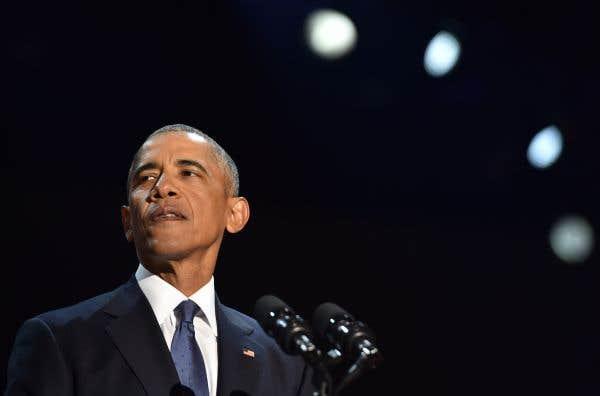 Barack Obama a prononcé un long plaidoyer pour la démocratie, mardi soir, depuis Chicago.