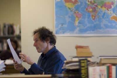 L'auteur David Homel se métamorphose en journaliste pour la journée.