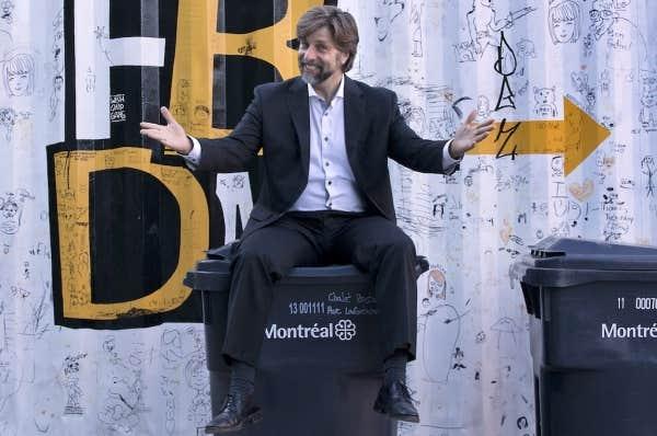 Le maire de l'arondissement du Plateau-Mont-Royal, Luc Ferrandez (septembre 2013).