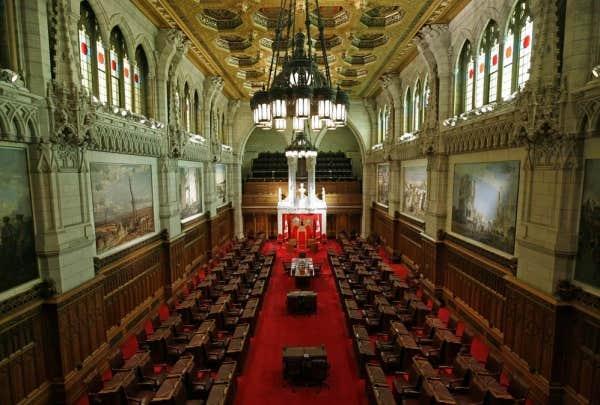 Deux projets de loi du gouvernement conservateur pour for Chambre de commune