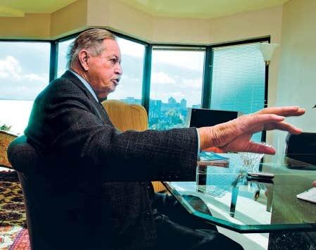 L&rsquo;ancien premier ministre du Qu&eacute;bec Jacques Parizeau a re&ccedil;u Le Devoir chez lui pour livrer ses premiers commentaires publics sur le Plan Nord.<br />
