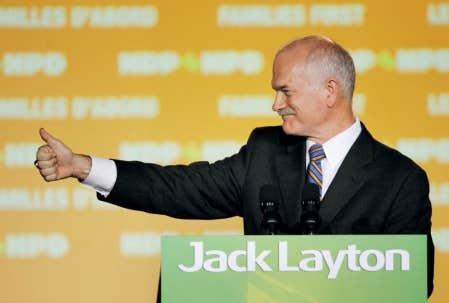 Le NPD de Jack Layton n&rsquo;a laiss&eacute; que des miettes &agrave; ses adversaires au Qu&eacute;bec. <br />