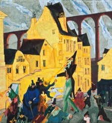 Carnaval &agrave; Arcueil<br /> 1911<br /> The Art Institute of Chicago ; Joseph Winterbotham Collection 1990.119<br />