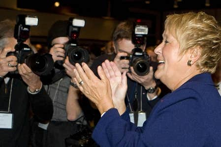 Les turbulences provoqu&eacute;es par la possibilit&eacute; d&rsquo;un retour de Gilles Duceppe en politique n&rsquo;ont pas nui &agrave; Pauline Marois.<br />