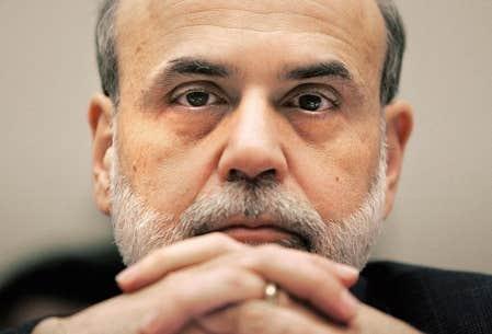 Le pr&eacute;sident de la R&eacute;serve f&eacute;d&eacute;rale am&eacute;ricaine, Ben Bernanke, constate une am&eacute;lioration de l&rsquo;environnement &eacute;conomique.<br />