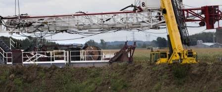 L&rsquo;installation de nouveaux puits, comme celui que l&rsquo;on retrouve &agrave; Saint-Thomas-d&rsquo;Aquin, en Mont&eacute;r&eacute;gie, ne semble plus &ecirc;tre une priorit&eacute; pour l&rsquo;industrie gazi&egrave;re. <br />