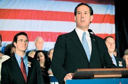 Rick Santorum n&rsquo;a pas appel&eacute; ses partisans &agrave; soutenir un candidat ou un autre.<br />