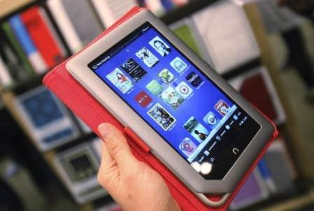 La nouvelle tablette Nook de Barnes &amp; Noble<br />