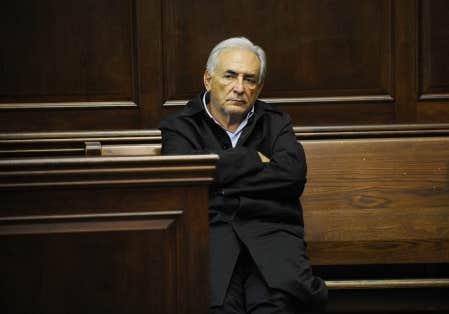 L'ancien directeur du FMI, Dominique Strauss-Kahn, photographié dans une cour de justice de Manhattan le 16 mai 2011.