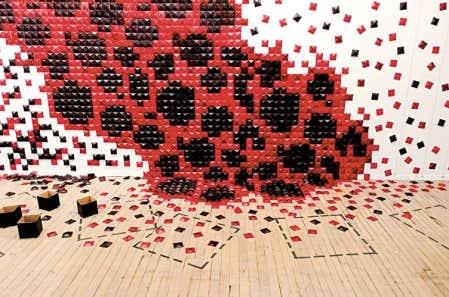Expositions carr s rouges en prolif ration le devoir for Chambre magmatique