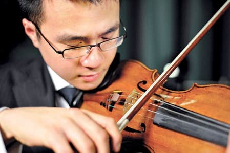 Le violoniste Andrew Wan