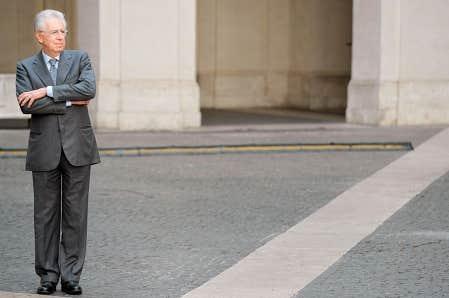 Mario Monti, chef du gouvernement italien