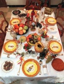 Les vedettes des tables de no l le devoir - Repas de noel en espagne ...
