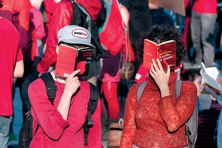 Manifestation étudiante en mai dernier. « La jeunesse, à nouveau, apparaît », dit Jean-Herman Guay.
