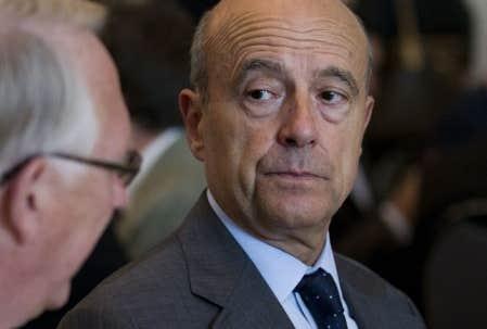 <div> Alain Jupp&eacute;, mercredi, en compagnie du maire de Montr&eacute;al, G&eacute;rald Tremblay</div>
