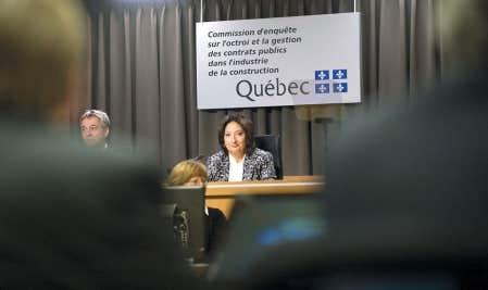 La juge France Charbonneau et le commissaire Renaud Lachance reprennent leurs travaux lundi.