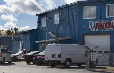 L&#39;entreprise Valmont Nadon fait partie de celles perquisitionn&eacute;es par l&#39;escouade Marteau.<br />