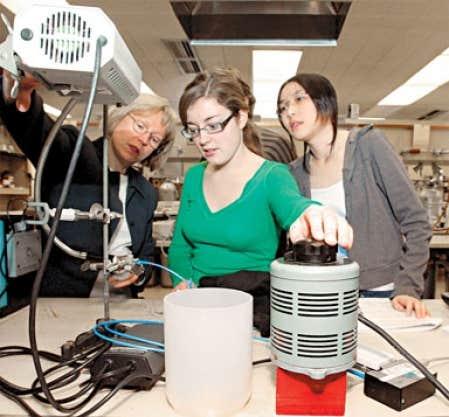 Les étudiants aux cycles supérieurs en chimie à McGill ont une occasion d'avoir un impact réel sur les enjeux planétaires.