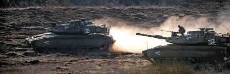 La semaine dernière, un véhicule militaire israélien avait été endommagé par des balles perdues tirées depuis le secteur du plateau contrôlé par la Syrie.