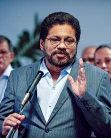 Le chef de la délégation des Forces armées révolutionnaires de Colombie, Ivan Marquez, a annoncé la fin de la trêve unilatérale à son arrivée au Palais des congrès de La Havane, ce dimanche.