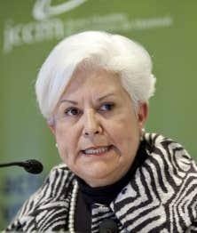 Le parti de Louise Harel n'a pas été épargné par les révélations de Michel Lalonde à la Commission Charbonneau lundi. Ci-dessus, la chef de Vision Montréal en 2009