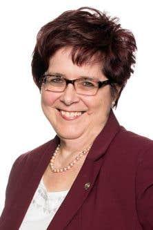 La présidente de la Fédération québécoise des directions d'établissement (FQDE), Lorraine Normand-Charbonneau