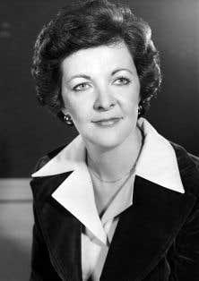 Jocelyne Ouellette a été l'une des deux seules femmes à siéger au conseil des ministres à la suite des élections de 1976.
