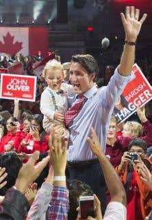 Questionnés à savoir si Justin Trudeau est prêt à diriger le gouvernement, 42 % des répondants ont dit oui.
