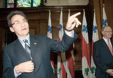 Le chef de Projet Montréal, Richard Bergeron, siégera au comité exécutif de la Ville de Montréal, qui sera présidé par le maire, Gérald Tremblay.