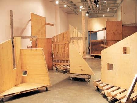L'installation «Dérives connectives» de José Luis Torres