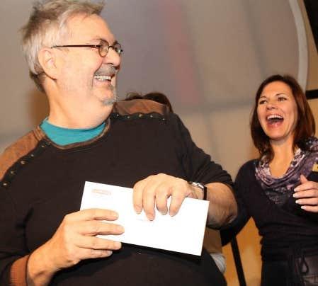 Michel Tremblay a remporté pour la troisième année consécutive le Prix du public du Salon du livre de Montréal.