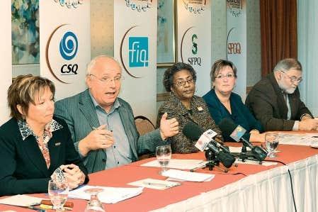 Le Secrétariat intersyndical des services publics prie le gouvernement de renoncer à toutes compressions «dévastatrices», similaires à celles que la fonction publique du Québec a encaissées dans les années 1990.