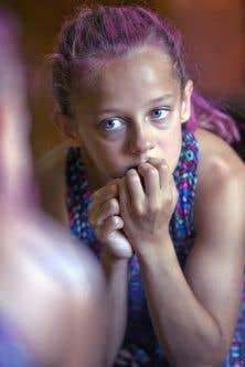 Maude Marsan, 11 ans, souffre d'un TDAH, qui nuit à sa concentration. Au Québec, un écolier sur cinq entre dans la catégorie des enfants à besoins spécifiques.