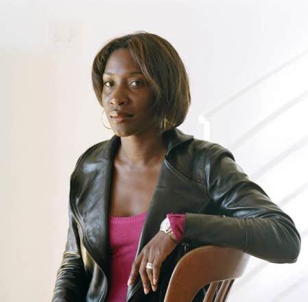 L'auteure de Bleu d'orage, Émeline Pierre