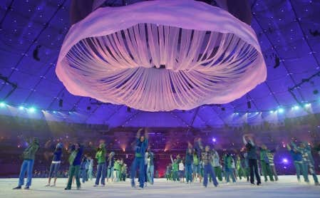 Les Jeux paralympiques de 2010 se sont mis en branle hier soir avec des cérémonies d'ouverture tenues devant une salle comble au B.C. Place.