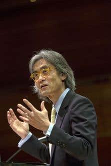 Le chef de l'Orchestre symphonique de Montréal, Kent Nagano