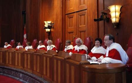 La Cour supr&ecirc;me du Canada<br />