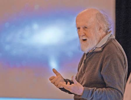 L&rsquo;astrophysicien Hubert Reeves<br />