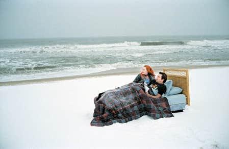 Jim Carrey et Kate Winslet dans Eternal Sunshine of a Spotless Mind.<br />