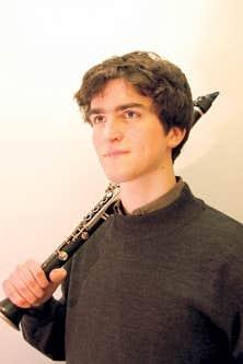 Le clarinettiste Hubert Tanguay-Labrosse, le favori de cette ann&eacute;e<br />