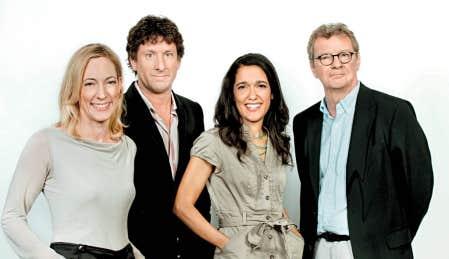 Julie Laferri&egrave;re, Yves Boisvert, Sophie Fouron et Jacques Bertrand animeront Cliquez, une &eacute;mission consacr&eacute;e &agrave; Internet.<br />