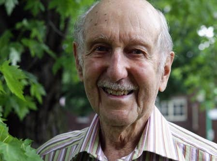 Pierre Dansereau, pris en photo en juin 2006. L'écologiste s'est éteint à Montréal à quelques jours de son 100e anniversaire.