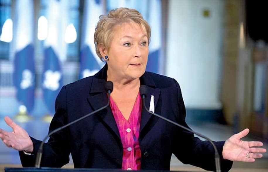 « Ce débat m'a permis de mesurer encore mieux l'ampleur des attentes des Québécois pour un changement de cap dans la façon de gouverner », a avoué la première ministre lors d'un point de presse annoncé en catastrophe jeudi matin.