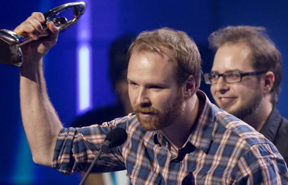 Le chanteur et parolier d'Avec pas d'casque, Stéphane Lafleur, en octobre dernier au gala de l'ADISQ.