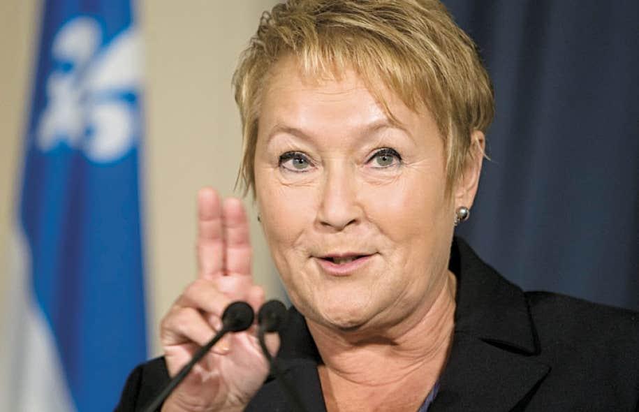 L'année qui commence sera cruciale pour Pauline Marois et son parti.