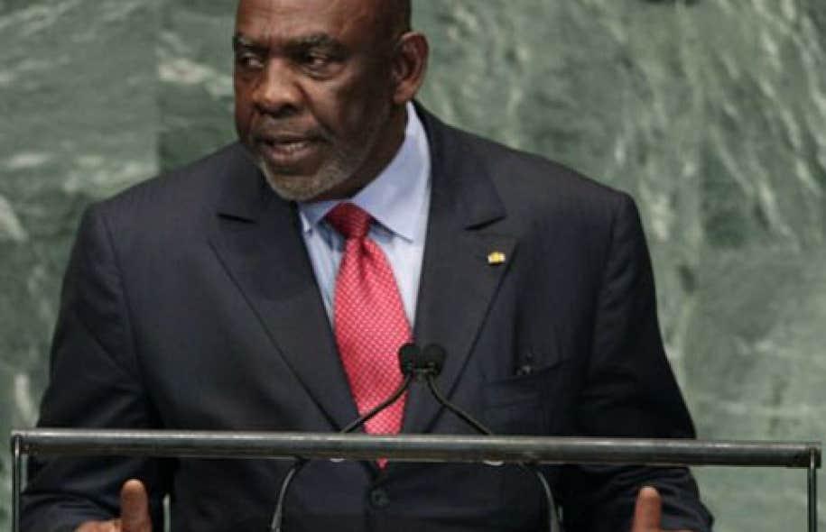 Cheick Modibo Diarra au quartier général de l'ONU à New York en septembre dernier