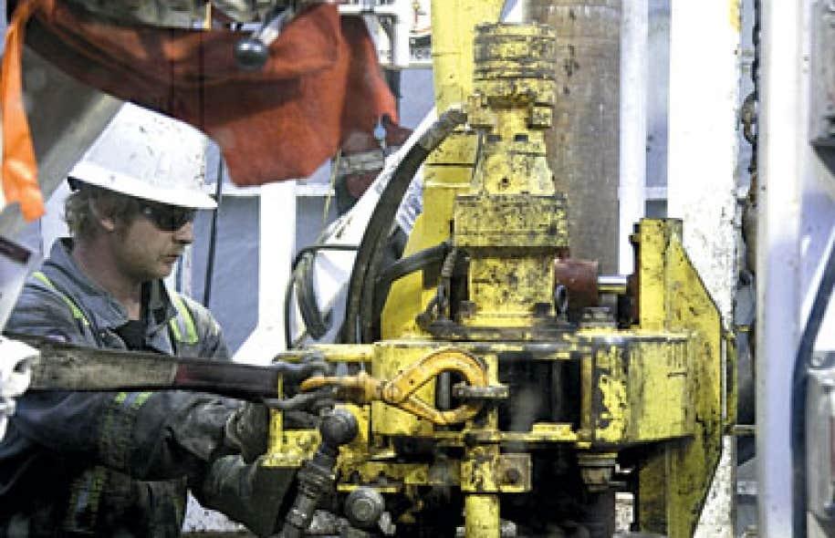 Pétrolia a déjà réalisé deux forages dans un secteur de Gaspé nommé Haldimand et s'apprêtait à en commencer un nouveau.