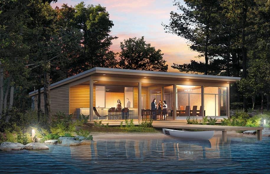 salon chalets et maisons de campagne entre chalet nature. Black Bedroom Furniture Sets. Home Design Ideas